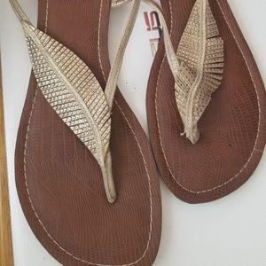Carlos Wedged Sandals